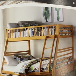 Twin Over Full Bunk Bed With Drawers ON CLEARANCE for Sale in Federal Way, WA
