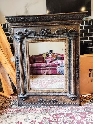 Large Rectangular Antique Mirror for Sale in Silver Spring, MD