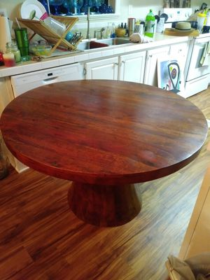 Teak dining table. 48 inches wide. for Sale in Davie, FL
