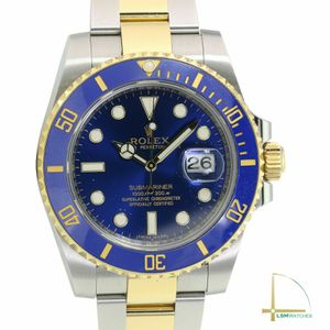 Rolex Men's Watch 40mm Submariner 116613LB 18k Gold and Steel Blue Face for Sale in Los Angeles, CA