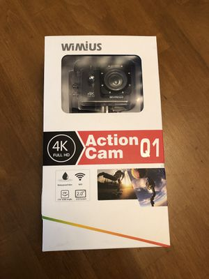 WiMius 4K Action Cam Q1 for Sale in Chino, CA
