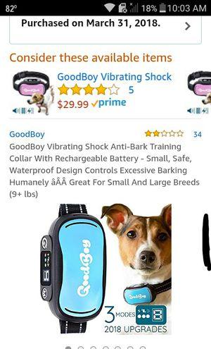 Anti bark collar, no shock for Sale in Olla, LA