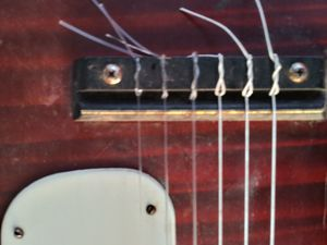 Stella Harmony guitar steel reinforced neck made in the USA antique for Sale in Dallas, TX