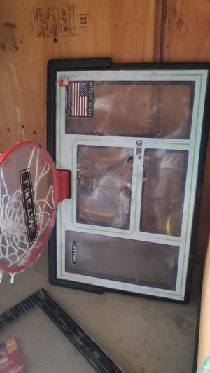 lifetime basketball back board for Sale in Bakersfield, CA