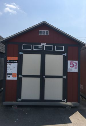 6523 Tuff Shed 10x12 TR800 display. Was $4,768 now $4,530 for Sale in Porter, TX