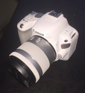 CANON EOS REBEL SL2 DSLR CAMERA 18-55MM STM LENS , WHITE for Sale in Queens, NY
