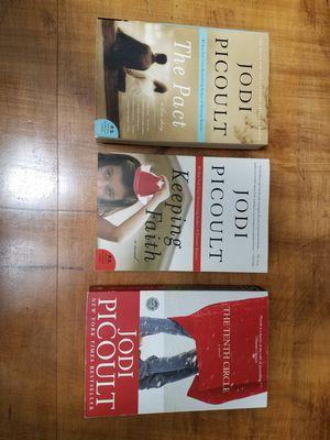 Jodi Picoult Books Set of 3 for Sale in Morgantown, WV