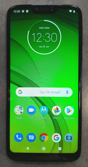 GSM UNLOCKED Motorola Moto G7 Power 64gb Blue Android Smart Cell Phone for Sale in Vancouver, WA