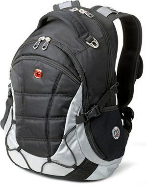 Swiss Gear Laptop Backpack Silver & Grey for Sale in Newcastle, WA