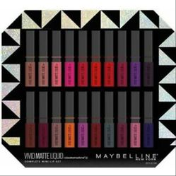 New Maybelline vivid matte mini lip set for Sale in El Monte,  CA