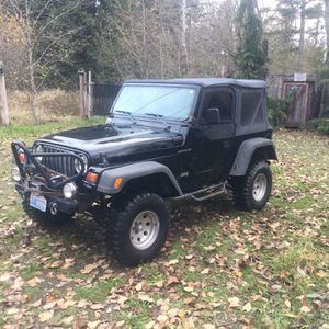 1998 Jeep Wrangler/ Tj for Sale in Spanaway, WA
