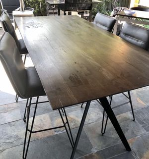 Bar Height Dining table with chairs for Sale in San Jose, CA