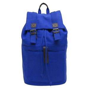 Men's Waxed Canvas Backpack Handbag - Goodfellow & Co™ Navy One Size for Sale in Plano, TX