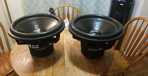 """(2) Sundown Audio ZV4 18"""" Subwoofers** for Sale in Portland, OR"""