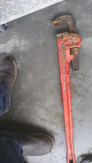 Ridgid 36in pipe wrench for Sale in Seattle, WA