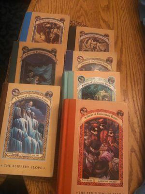 A Series of Unfortunate Events Books for Sale in Kent, WA