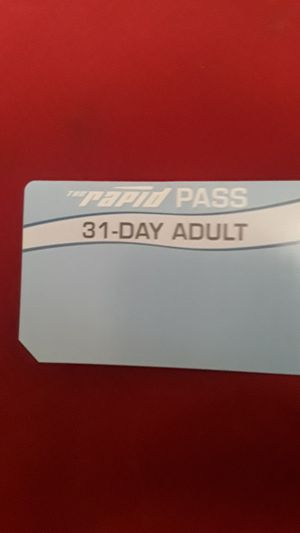 31 Day Buss Pass for 30$ (2) for Sale in Grand Rapids, MI