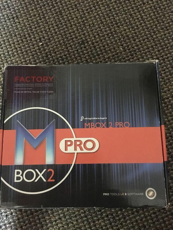 Mbox 2 Pro. Audio interface