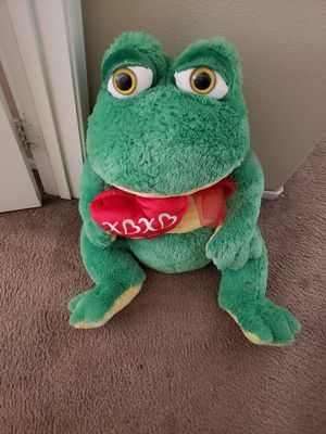 Green Frog Stuffed Animal for Sale in Palmdale, CA