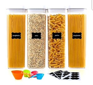 Airtight Food Storage Containers, 4 Pieces for Sale in Arlington, TX