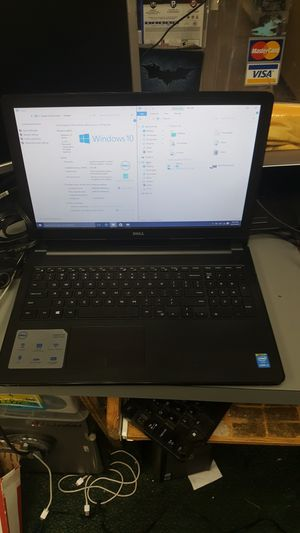 Dell inspiron 15 laptop notebook computer win 10 intel i3 5th gen 4gb ram 500gb hdd for Sale in Baltimore, MD