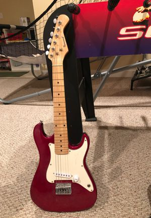 Burswood electric guitar with case for Sale in Shelton, CT