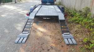 Flatbed trailer risers for low cars. Trailer not included for Sale in Ravensdale, WA