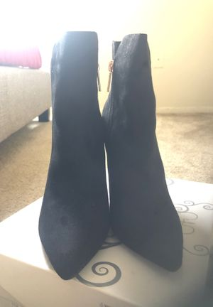 Suede black boot size 8 for Sale in Silver Spring, MD
