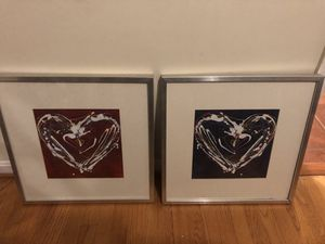 Set of 2 art prints for Sale in Herndon, VA