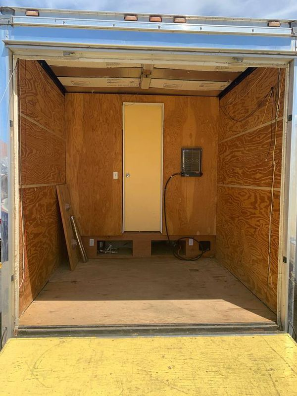 Toy hauler/Tiny home/Enclosed trailer/travel trailer
