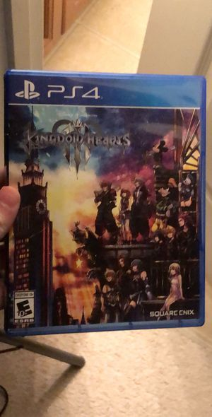 Kingdom hearts 3 for Sale in Rolesville, NC