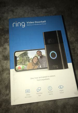 NEW unopened Ring 2nd Gen 2020 release for Sale in Lake Elsinore, CA