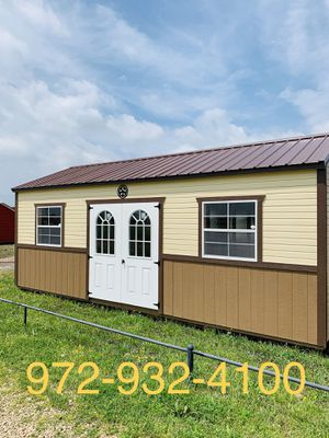 Deluxe shed 12x24 for Sale in Dallas, TX
