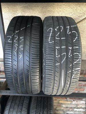 225-55-17 used tires 225/55/17 llantas usadas for Sale in Fontana, CA