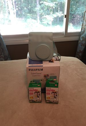 Fuji Instant Camera Case and Film for Sale in McDonough, GA