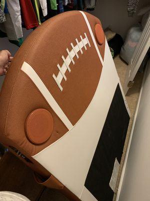 Full boy headboard football , steel frame(queen/full). for Sale in Clifton, VA