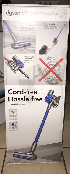 Dyson V7 Animal Cordless Stick Vacuum Cleaner, Iron for Sale in Carson, CA