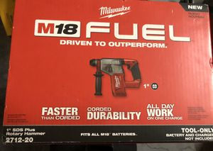 New Milwaukee rotary hammer 2712-20 tool only for Sale in Kissimmee, FL