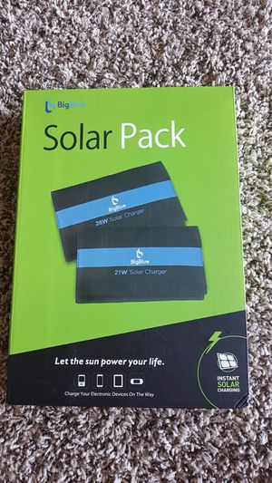21W solar panel for phone charging for Sale in Richland, WA