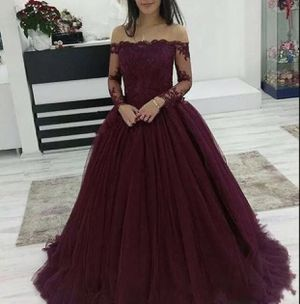 Burgundy prom dress for Sale in Beltsville, MD