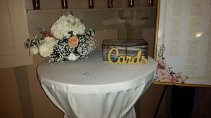 Wedding Card Box with Cards Sign for Sale in Gaithersburg, MD