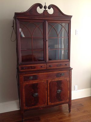 Antique buffet cabinet in excellent shape for Sale in Los Angeles, CA