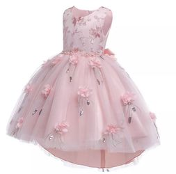 Brand New, Never Worn gorgeous pink princess dress, toddler size 4T for Sale in Riverview,  FL