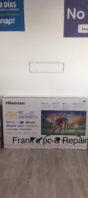 65 INCH HISENSE ANDROID TV 📺 for Sale in Chino, CA