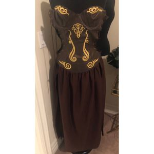 Xena female Halloween cocktail costume for Sale in Los Angeles, CA