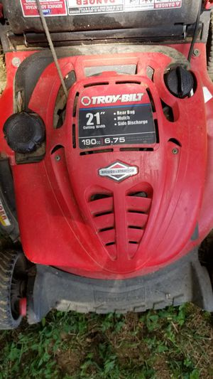 Troy bilt lawn mower 190cc for Sale in Old Hickory, TN