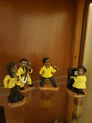 4 piece Black Band Figurines for Sale in Greensboro, NC