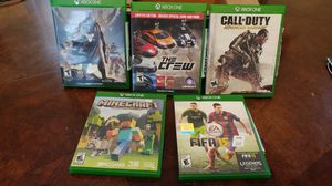 Xbox ONE games. Destiny, the crew, call of duty advance warfare, Minecraft, FIFA 15 for Sale in Baltimore, MD