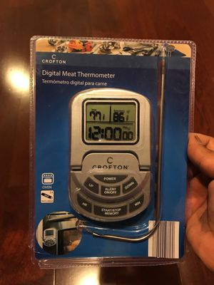 Digital meat thermometer for Sale in Germantown, MD