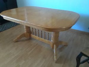 Solid oak kitchen table (no chairs) for Sale in San Jose, CA